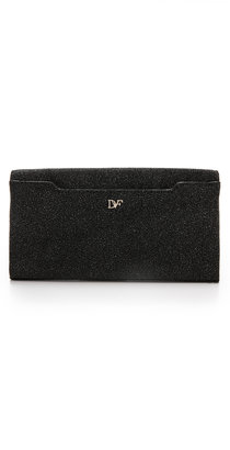 Diane von Furstenberg 440 Diamond Dust Envelope Clutch