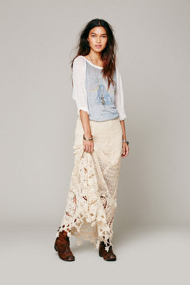 Free People Mi Amore Maxi Skirt