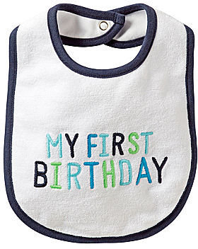 Carter's Birthday Bib - Boys