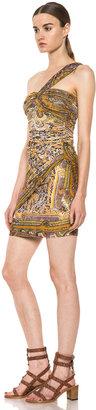 Isabel Marant Mylene Mankolam Dress in Amber
