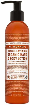 Dr. Bronner's Orange Lavender Organic Hand Body Lotion by 8oz Lotion)