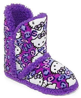 Hello Kitty Short Boot Slippers
