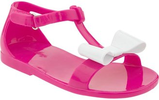 Old Navy Bow-Front Jelly Sandals for Baby