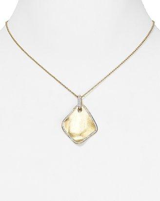 """Nadri Petals Pendant Necklace, 15"""""""