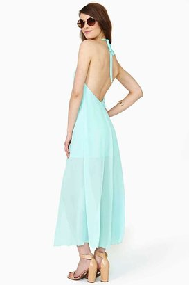 Nasty Gal Clear Skies Maxi Dress