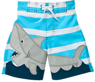Gymboree Shark Stripe Swim Trunk