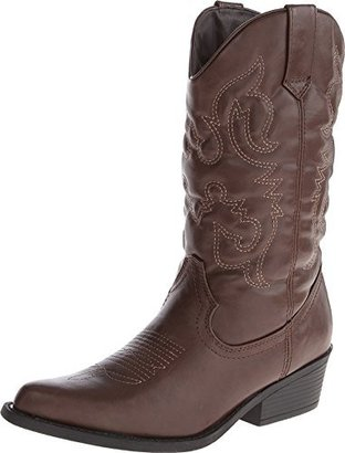 Madden Girl Women's Sanguine Wide Calf Western Boot $69.95 thestylecure.com