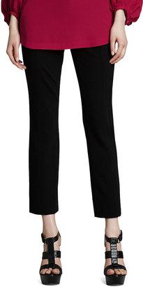 Diane von Furstenberg Carissa Cropped Ponte Knit Pants
