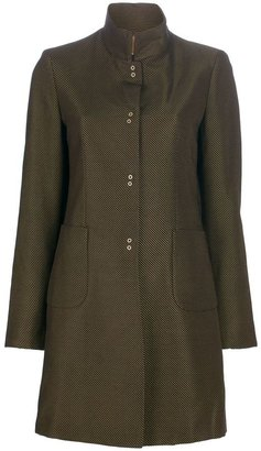 Romeo Gigli Vintage Stand-up collar coat