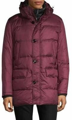 Strellson Classic Hooded Down Jacket
