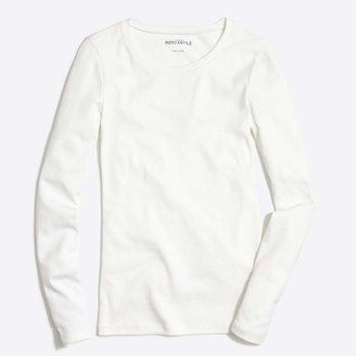 J.Crew Fine-rib cotton long-sleeve T-shirt