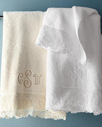 Matouk Callista Lace Towels