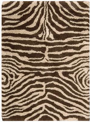 "Nourison MANUFACTURER'S CLOSEOUT! Area Rug, Splendor SPL17 Ivory/Brown 7' 6"" x 9' 6"""