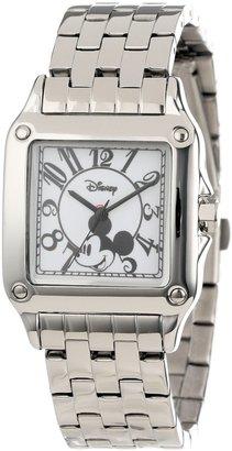 EWatchFactory Disney Women's W000469 Mickey Mouse Perfect Square Bracelet Watch