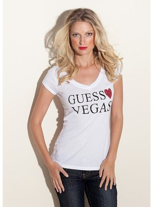 GUESS Loves Vegas TEE