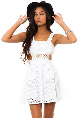 *MKL Collective The Pinafore Eyelet Dress