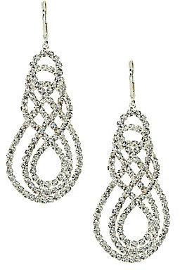 Cezanne Infinity Drop Earrings