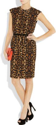 Giambattista Valli Leopard-print cotton dress