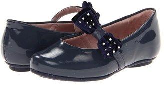 Pampili 10 Angel (Toddler/Little Kid/Big Kid) (Black) - Footwear