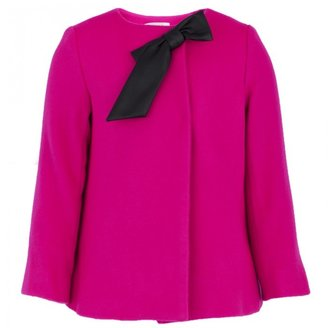 Milly Minis Pink Wool Style Jacket