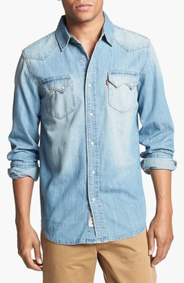 Levi's 'Gretzle' Western Denim Shirt