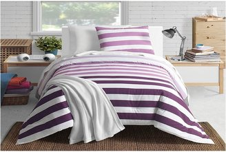Lacoste Concordia Comforter Mini Set - Full (Purple) - Home