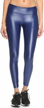 KORAL ACTIVEWEAR Shiny Metallic Active Legging $88 thestylecure.com