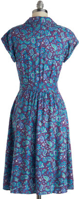 Motel Waltz on a Whim Dress in Paisley
