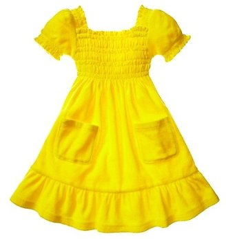 Juicy Couture Smocked Terry Dress 2-6
