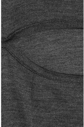 Isabel Marant Seashell cutout knitted-silk top