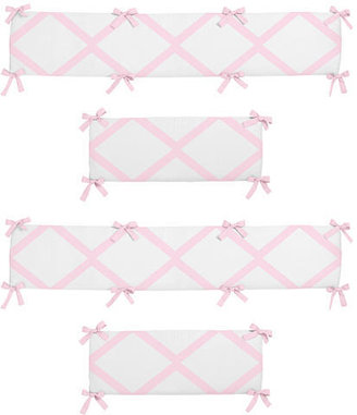JoJo Designs Sweet Ballerina Collection Crib Bumper