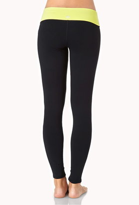 Forever 21 Layered Skinny Workout Leggings