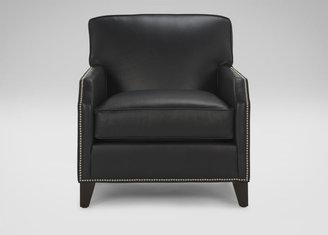 Ethan Allen Seville Leather Chair