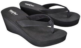 Mossimo Women's Leiko Wedge Flip Flop - Black
