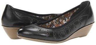 Rieker 43267 Mary 67 (Black) - Footwear