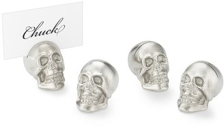 Williams-Sonoma Halloween Skull Place Card Holder