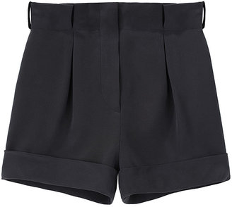 Cacharel Cuffed Silk Shorts