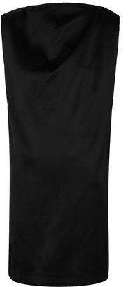 GAUGE81 Cali Black Satin Mini Dress