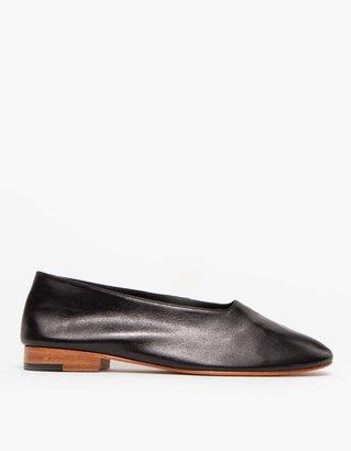 Martiniano Glove Slip-On Shoe in Black