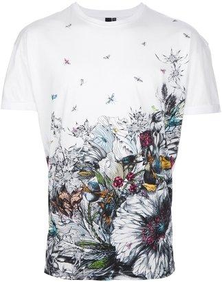 McQ by Alexander McQueen floral print t-shirt