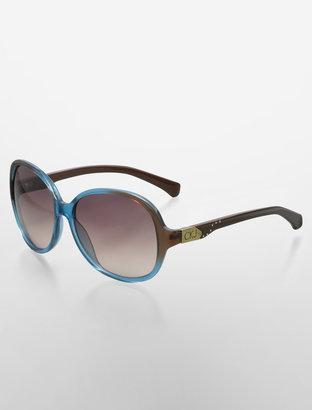 Calvin Klein Jeans Oversized Round Sunglasses