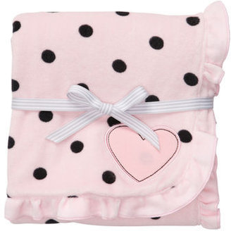 Carter's Polka Dot Velour Blanket