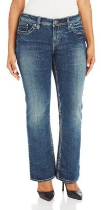 Silver Jeans Silver Jean Juniors Plus-Size Aiko Bootcut Jean