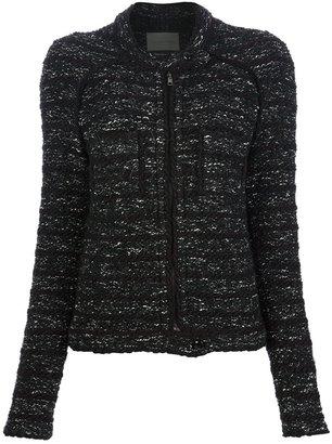Etoile Isabel Marant knitted tweed cardigan