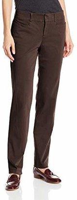 Dockers Women's Ideal Straight-Leg Trouser Pant $19.33 thestylecure.com