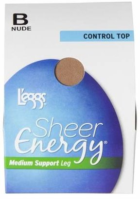 L'eggs® Women's Sheer Energy Control Top Pantyhose - 65400 - Nude