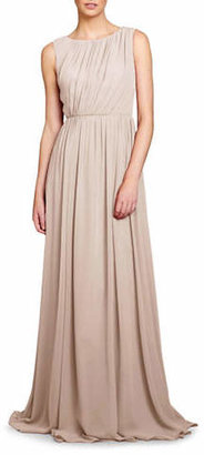 Jenny Yoo Eloise Pleated Bodice Gown