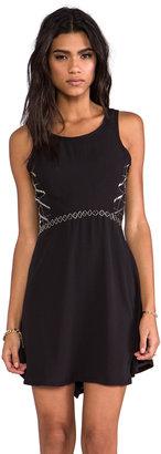 LAmade Georgette w/ Beading Beaded Dress