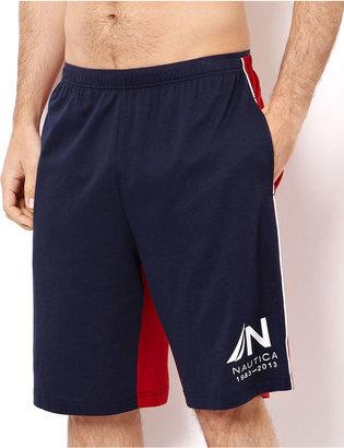 Nautica Men's Loungewear, Colorblocked Harbor Shorts