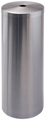 InterDesign Forma Roll Canister, Brushed Stainless Steel